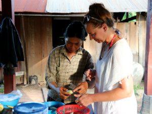 Cambodja rondreis Kampong Thom - klein