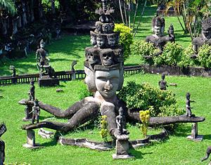 laos cambodja boeddha vientiane