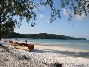 rondreis cambodja individueel - strand