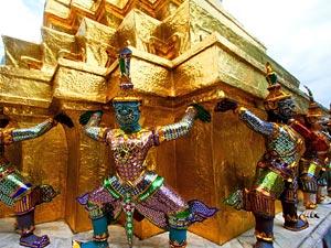 thailand fietsen bangkok tempel