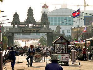 grensovergang cambodia