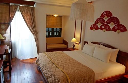 cambodja vietnam hoi an bed