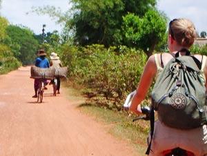 fietsen in cambodja