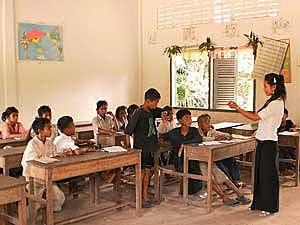 kinderen school