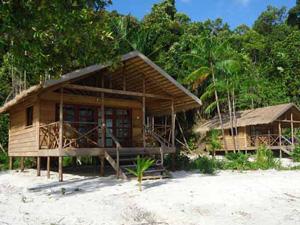 cambodja koh rong bungalow