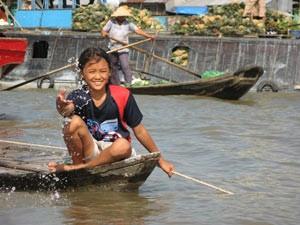 reizen cambodja vietnam mekong