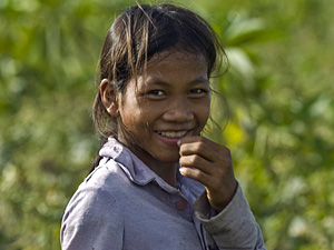 cambodja meisje platteland homestay