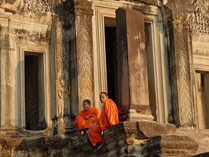 cambodja monniken