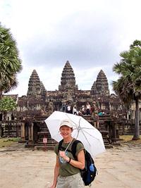 paraplu angkor cambodja