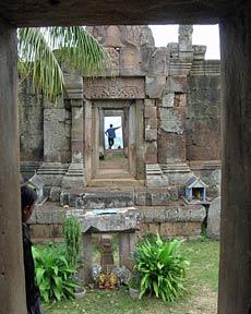 cambodja tempel phnom chisor
