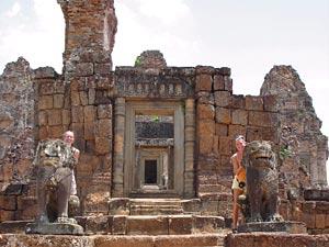 tempelruines van angkor