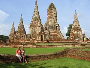 highlights cambodja thailand - tempels ayutthaya