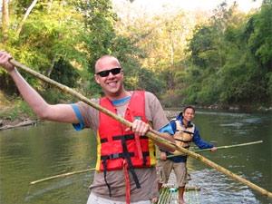trekking thailand raft