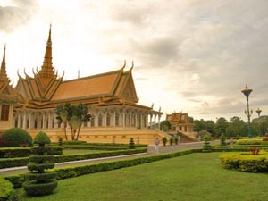 vietnam cambodja phnom penh palace
