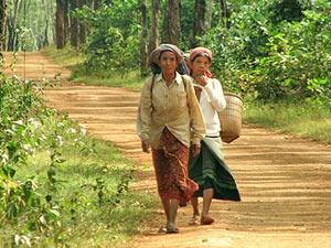 cambodja vrouwen banlung