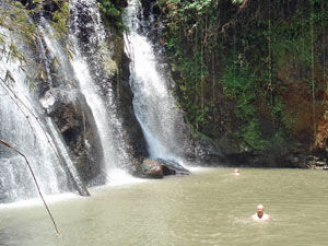 cambodja waterval banlung