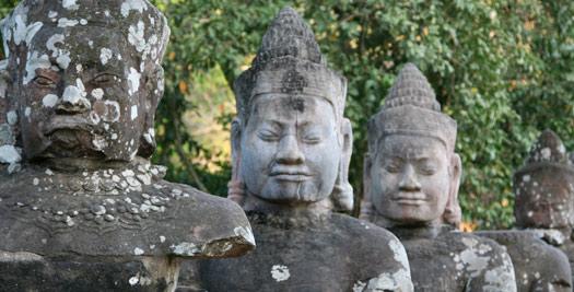 Beelden Angkor
