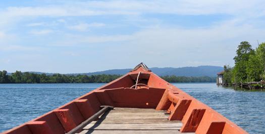 Rondreis Cambodja - boot