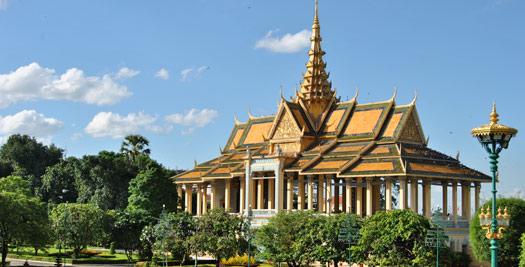 Paleis Phnom Penh - Cambodja reis