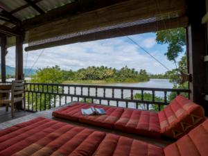 Hotel - Kampot - terras