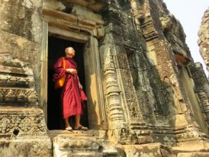 Bezienswaardigheden Cambodja Angkor Wat-monnik