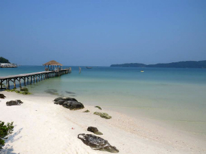 Koh Rong Samloem strand