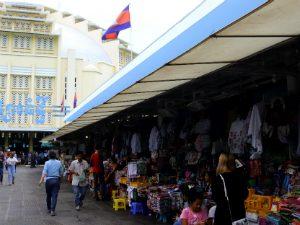 Wat te doen Phnom Penh blog central market