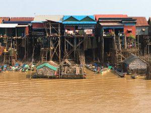 Cambodja reizen tonle sapmeer
