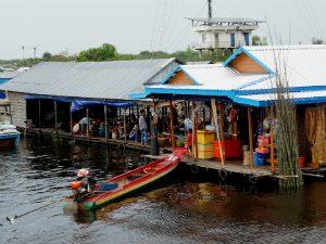 Tonle Sap markt