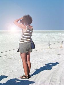 Zoutvlakte Botswana