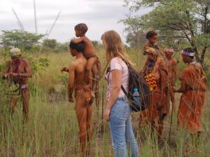botswana uitleg bushmen
