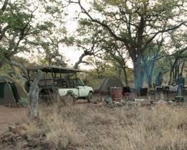 damaraland kampement namibie