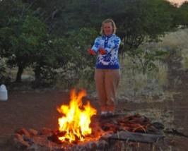 damaraland rhinotrekking camp namibie