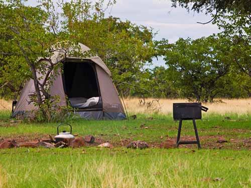 damaraland sleepout tent namibie