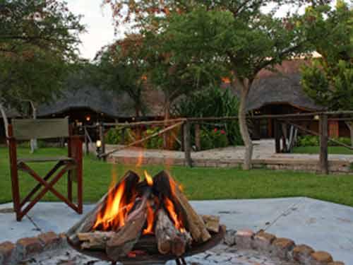 grootfontein kampvuur namibie