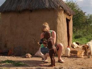 himba met maranke namibie