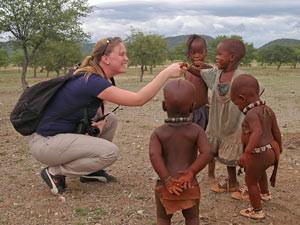 himba ontmoeting namibie