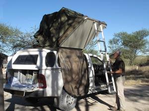 inklappen daktent botswana