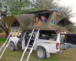 kamperen namibie