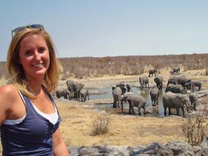 Etosha National Park Namibië safari