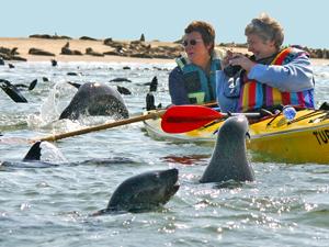 namibie kayakken swakopmund