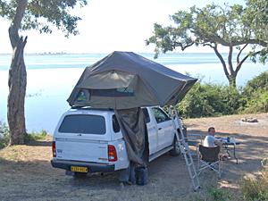 singlecab camping namibie botswana