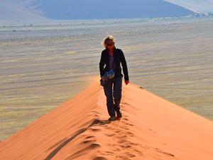Sossusvlei Namibië - zandduinen