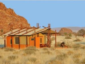 Sossusvlei safaritent - Namibie vakantie