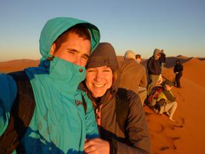 sossusvlei zonsopgang namibie