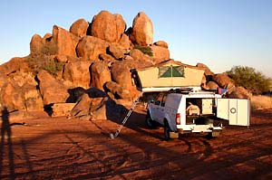 4x4 namibie kamp