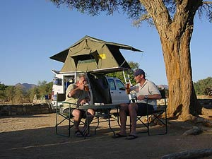 kampeerreizen Namibië