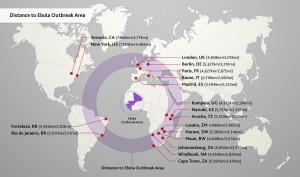 Ebola kaart