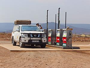 namibie benzine