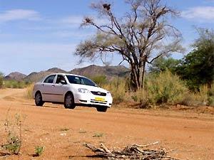 Autohuur Namibië